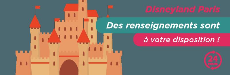 contacter Disneyland Paris