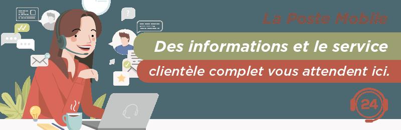 Service relation client La Poste mobile