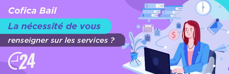 Service relation client Cofica Bail