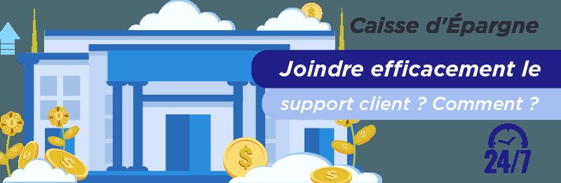 Service relation client Caisse d´Épargne