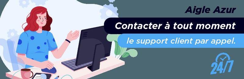 Service relation client Aigle Azur