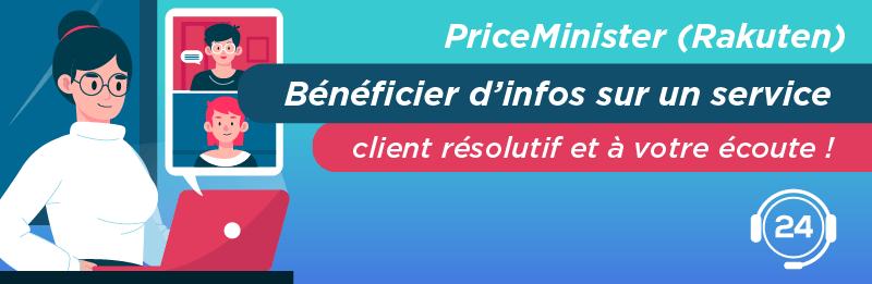 Service relation client PriceMinister Rakuten