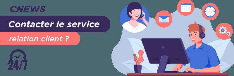 Service relation client CNEWS