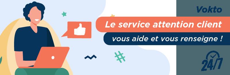 Service relation client Vokto