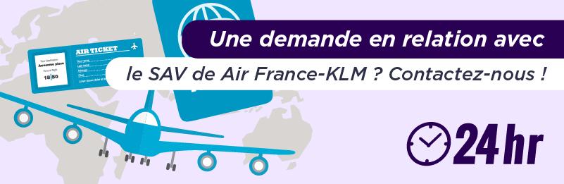 contacter Air France KLM
