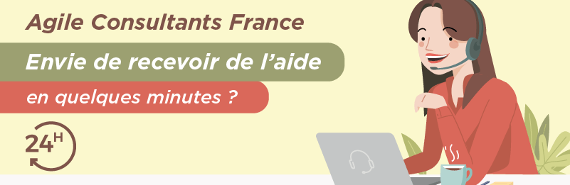 support client telephone Agile Consultants France