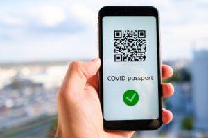 Charger le Passeport sanitaire depuis son téléphone